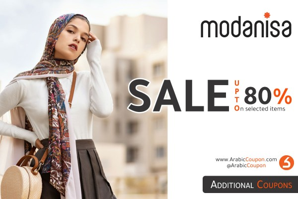 Modanisa Sale up to 80% with special promo code