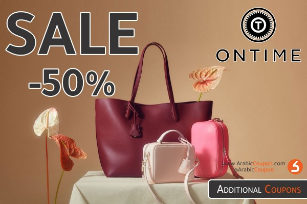 ONTIME Sale upto 50% with 25% additional ONTIME coupon
