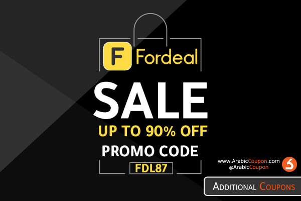 Fordeal launched Black Friday SALE & discounts for 2020 with additional coupon code