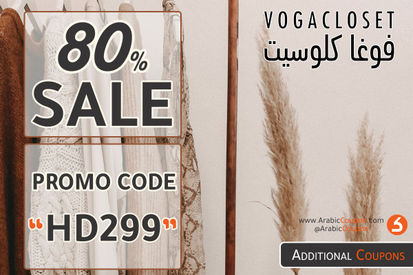 VogaCloset SALE up to 80% on thousands of products