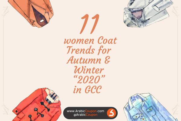 11 women Coat Trends for Autumn & Winter 2020 in GCC - Latest Fashion NEWS