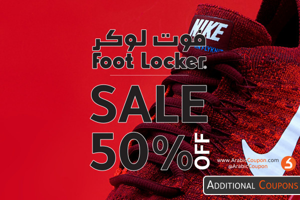 Foot Locker Black Friday Sale up to 50% for 2020 in KSA, UAE, Kuwait