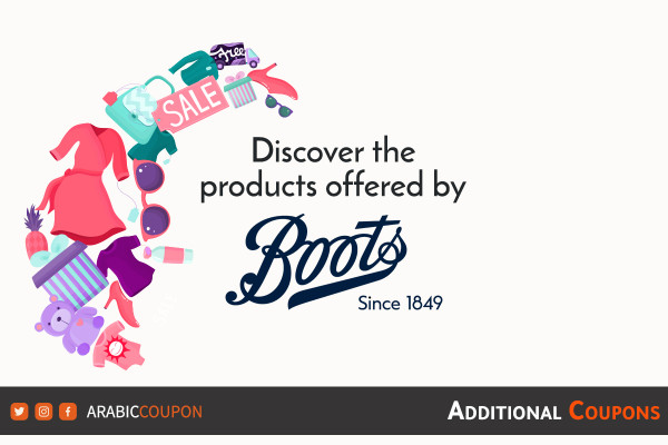Discover the products offered by BOOTS to buy online in UAE
