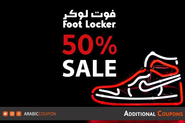 FootLocker 50% OFF SALE on selected brands - 2021