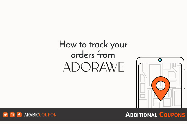 How to track online orders from Adorawe with extra coupons