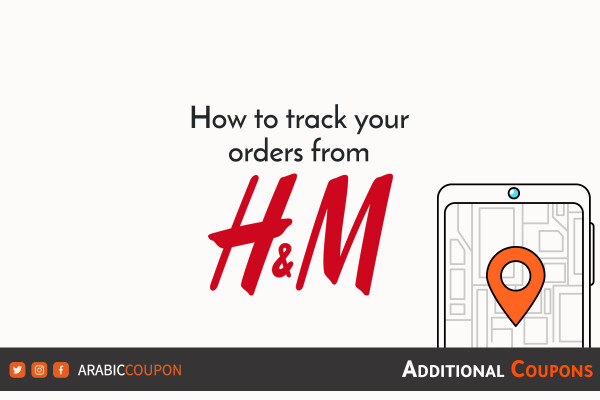 simple ways to track online order from H&M with additional coupons