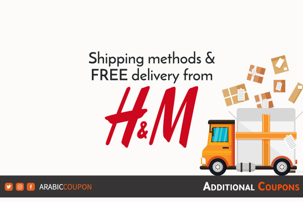Free shipping from H&M and all delivery services provided