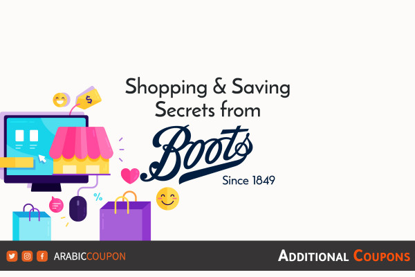 Saving secrets when shopping online from Boots with additional coupon
