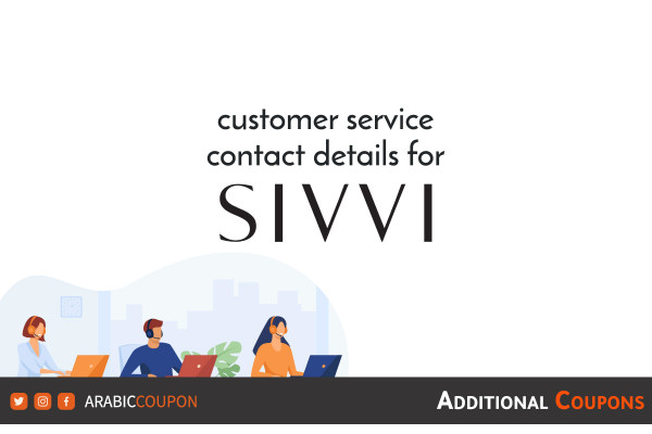 What are the ways to communicate with the SIVVI customer service team - review and rating websites
