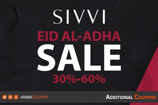 SIVVI announced the continuation of Eid al-Adha SALE up to 60off with additional coupons