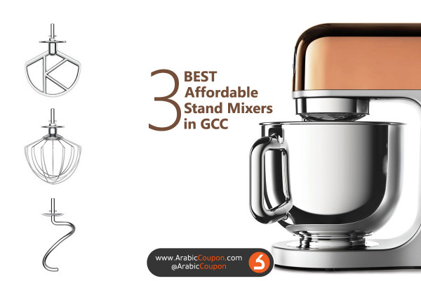 """The 3 best affordable kitchen Stand Mixers in GCC market """"2020"""" - latest kitchen news"""