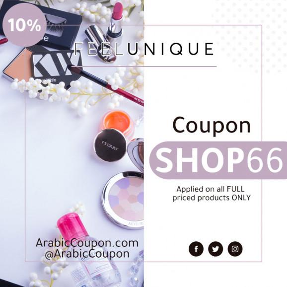 FeelUnique coupon 2020 - 10% FeelUnique promo code - ArabicCoupon