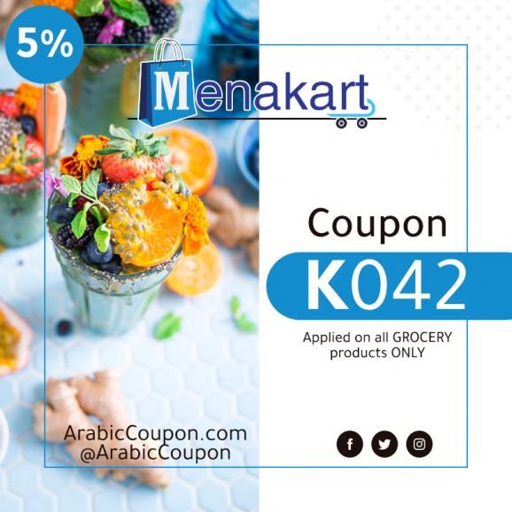 Menakart promo code on all Grocery (2020 MenaKart coupon)